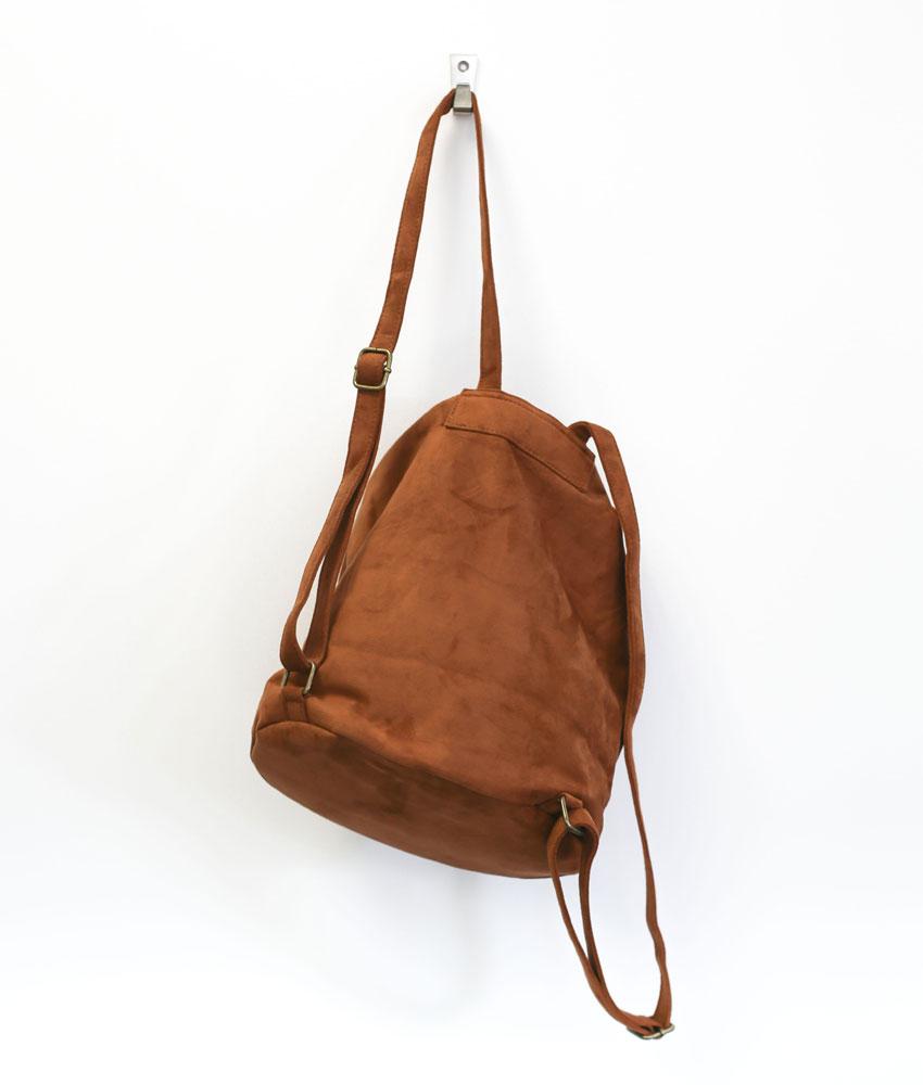 16af0b0621 sac-a-dos-femme-suedine-camel – Pressing Corp | T-shirts, idées cadeaux