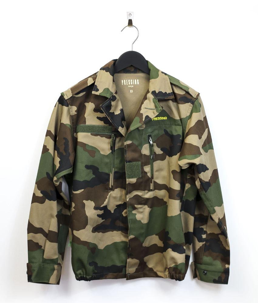 Veste oversize camouflage femme